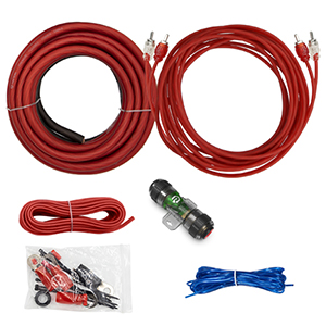 VICE SERIES - 600W 4 AWG Amp Kit with RCA Cable