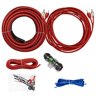 VICE SERIES - 300W 8 AWG Amp Kit with RCA Cable